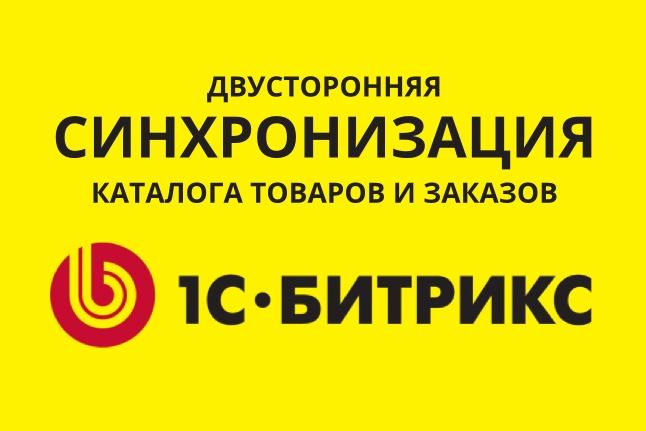 Синхронизация - Битрикс 1 - kwork.ru