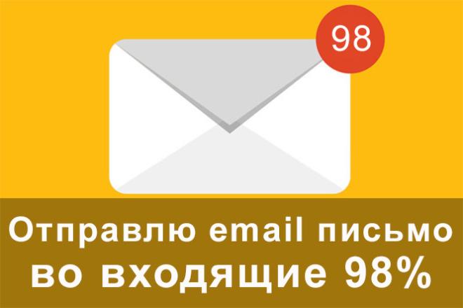 Отправлю email письмо. 98% идут во входящие 1 - kwork.ru
