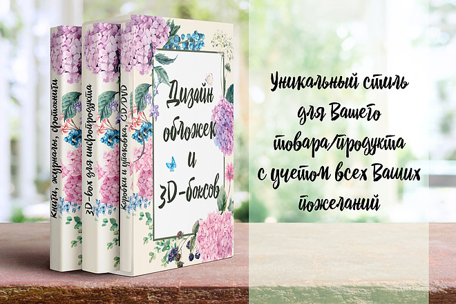 Создание 3D обложки для книги, курса, инфопродукта, товара 7 - kwork.ru