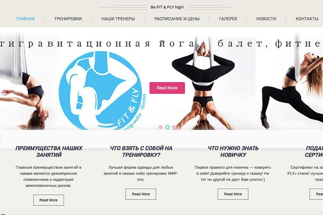 Сайт на WordPress, установка шаблона, настройка 4 - kwork.ru