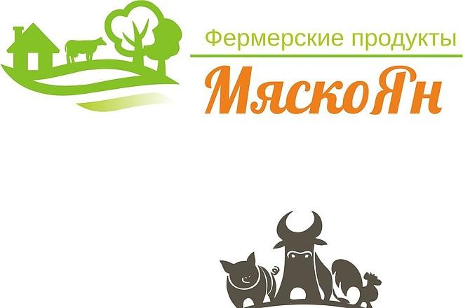 Дизайн логотипа по Вашему эскизу 16 - kwork.ru