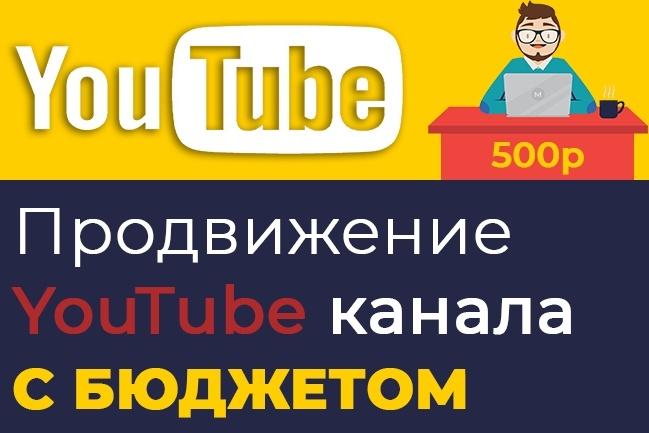 Инструкция продвижения ютуб канала с бюджетом. Раскрутка YouTube 2018 1 - kwork.ru