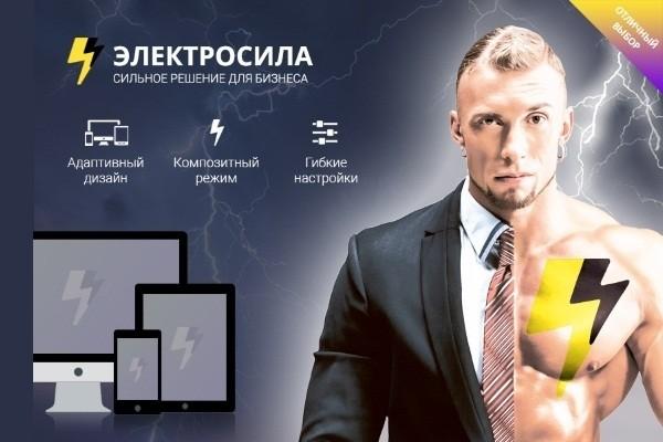 Установлю интернет-магазин Электро Сила на Битрикс 1 - kwork.ru