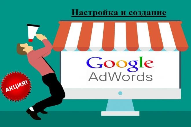 Создание и настройка РК в Google AdWords 1 - kwork.ru