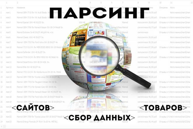 Напишу парсер данных с сайтов на Python 1 - kwork.ru