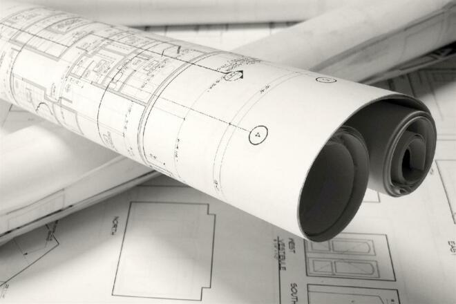 Перечерчивание или создание плана этажа 3 - kwork.ru