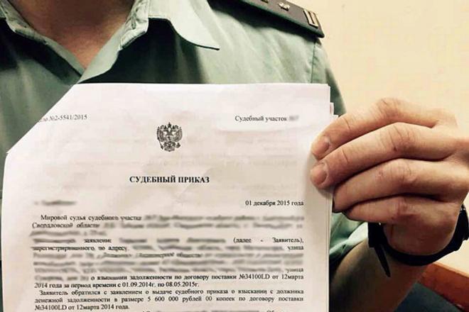Помощь в оспаривании судебного приказа 1 - kwork.ru
