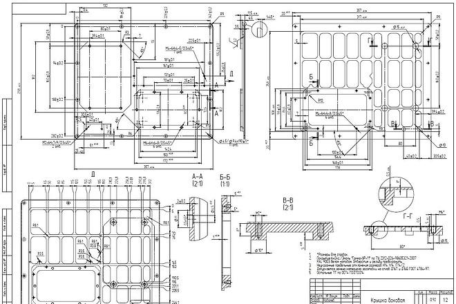 3d модель по чертежу 5 - kwork.ru
