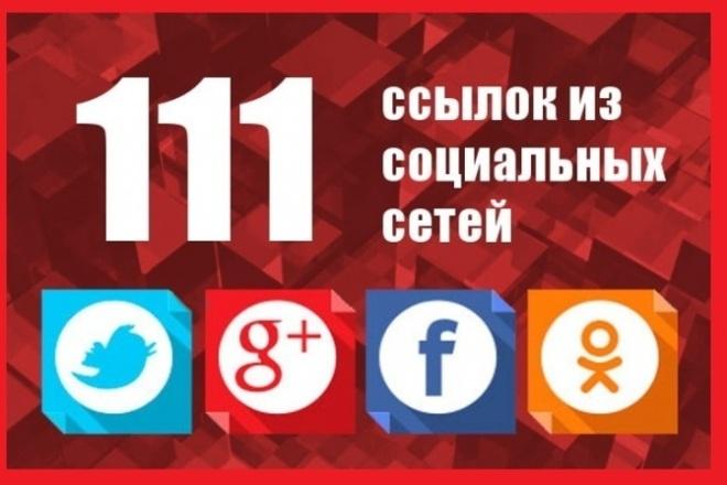 111 социальных сигналов на Ваш сайт. Только живыми людьми и вручную 1 - kwork.ru
