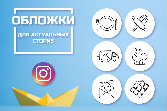 Обложки для актуальных сториз 37 - kwork.ru