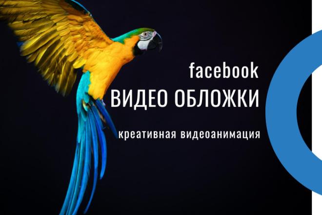 Сделаю видео обложку для страницы facebook 5 - kwork.ru