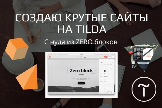 Разработаю продающий сайт на Tilda 6 - kwork.ru