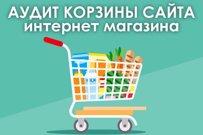Аудит корзины Вашего Интернет-магазина 1 - kwork.ru