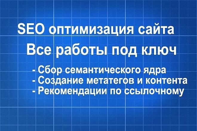 Внутренняя SEO-оптимизация страницы сайта для вывода в топ 1 - kwork.ru