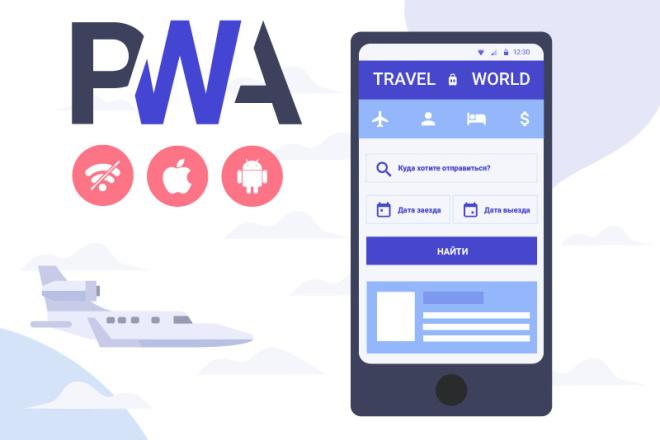 Создать приложение Progressive Web Apps 5 - kwork.ru