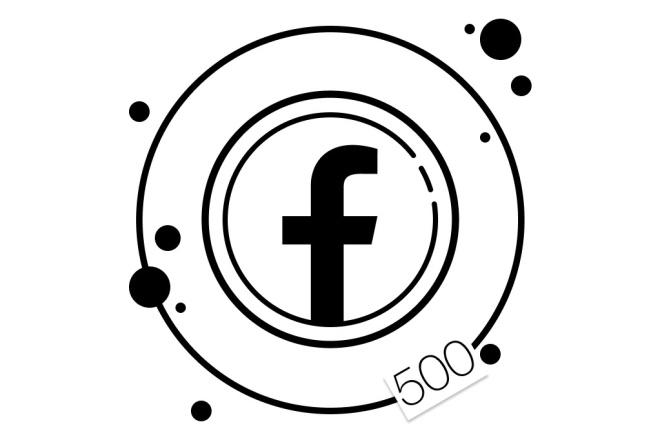 500 русских подписчиков в группу Facebook 1 - kwork.ru