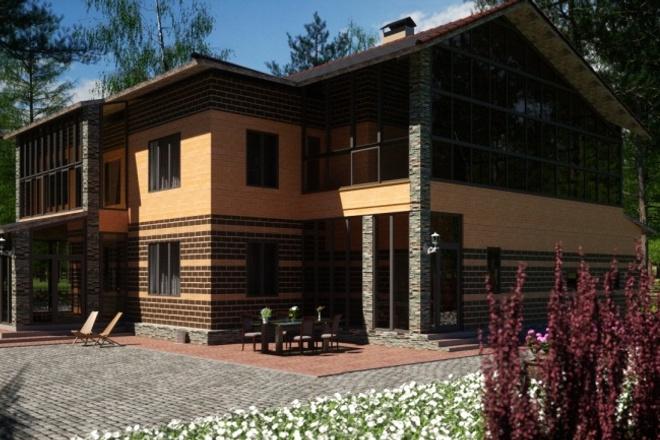 3Д архитектурная визуализация 7 - kwork.ru