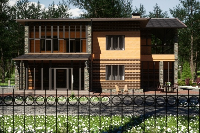 3Д архитектурная визуализация 1 - kwork.ru