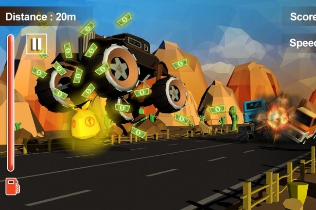 Исходник мобильной игры Furious Road Surfer. Unity 3D game source code 3 - kwork.ru