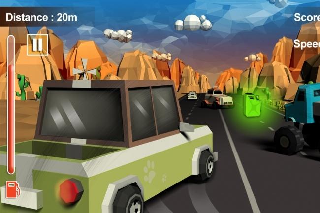 Исходник мобильной игры Furious Road Surfer. Unity 3D game source code 1 - kwork.ru