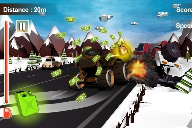 Исходник мобильной игры Furious Road Surfer. Unity 3D game source code 2 - kwork.ru