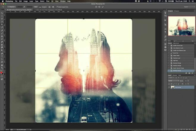 рисунок как наложить эффекты на фото можно