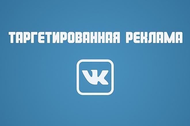 Таргетированная реклама вк 1 - kwork.ru