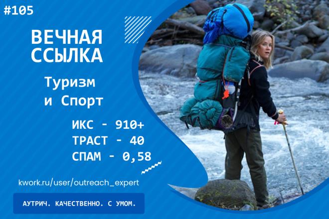 Ссылка с сайта Туризм и Спорт. СМИ обо всем. ИКС - 910 1 - kwork.ru