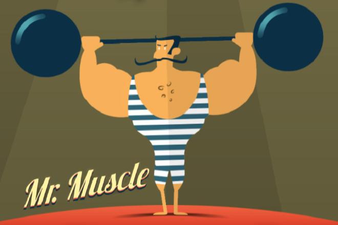 Исходник игры Mr. Muscle 1 - kwork.ru