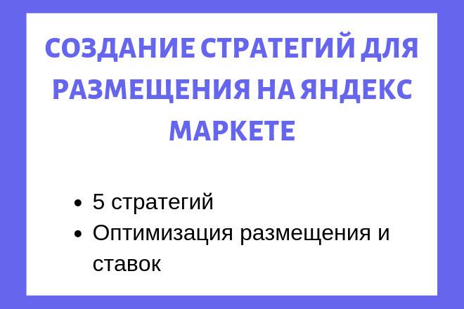 Настройка стратегий в Яндекс Маркет в Pricelabs 1 - kwork.ru