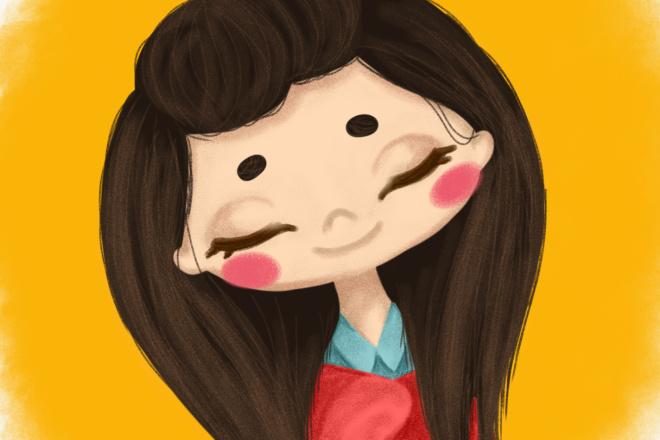 Нарисую мультяшный портрет по фото 15 - kwork.ru