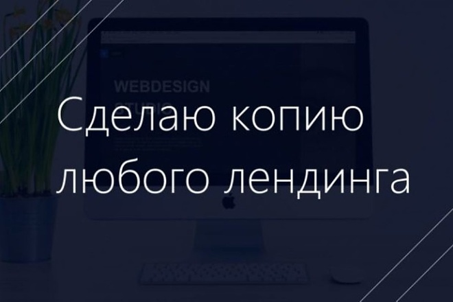 Сделаю копию Landing Page c настройкой 14 - kwork.ru