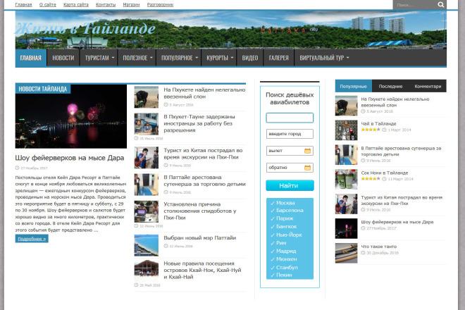 4 вечные ссылки на 4 сайтах о туризме 1 - kwork.ru