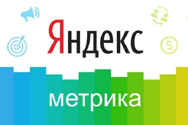 Установка счетчика Яндекс Метрики 1 - kwork.ru