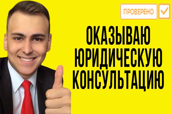 Юридическая консультация юриста с судебной практикой и образованием 1 - kwork.ru