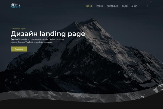 Дизайн landing page для вашего бизнеса 7 - kwork.ru