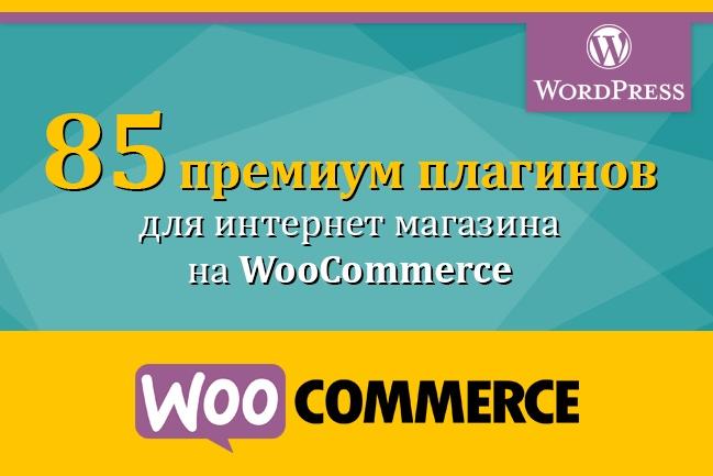 85 премиум-плагинов для WooCommerce 1 - kwork.ru