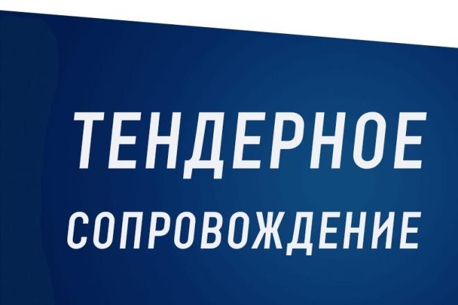 Подготовлю документацию для участия в тендерах по 44 и 223 ФЗ 1 - kwork.ru
