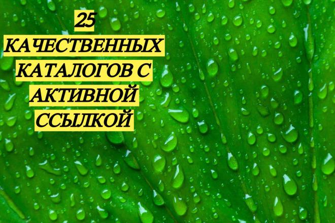 Зарегистрирую Вашу компанию с ссылкой на сайт в каталогах вручную 1 - kwork.ru