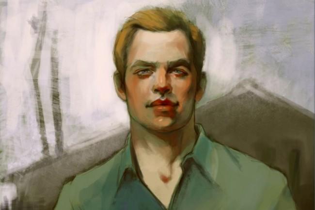 Цифровой портрет по фото 3 - kwork.ru