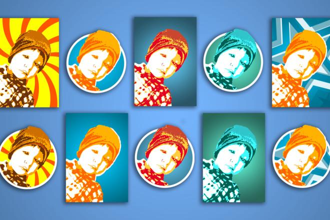 Аватары для Ваших Социальных Сетей - Макет Бесплатно 6 - kwork.ru