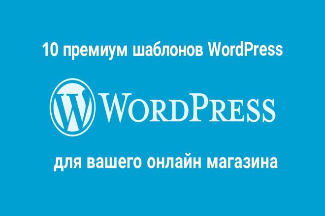 10 премиум шаблонов WordPress для вашего онлайн-магазина 12 - kwork.ru