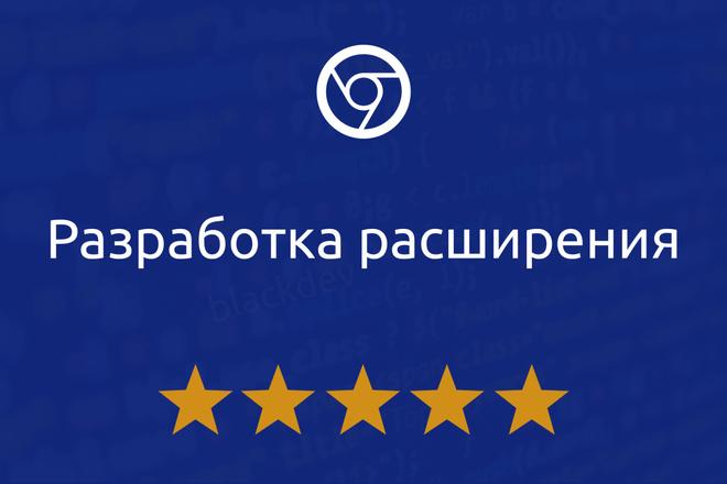 Разработка расширения для Chrome, Opera, Firefox, Vivaldi 1 - kwork.ru