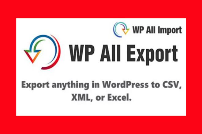 WP All Import Pro, Export Pro на русском с обновлен. Addons в подарок 1 - kwork.ru