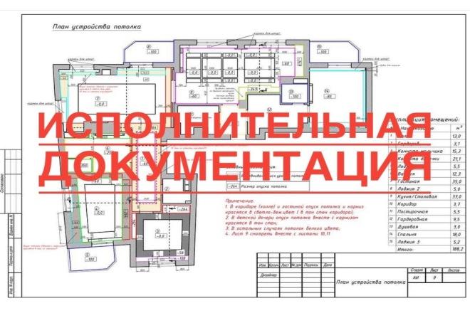 Подготовлю исполнительную документацию 2 - kwork.ru
