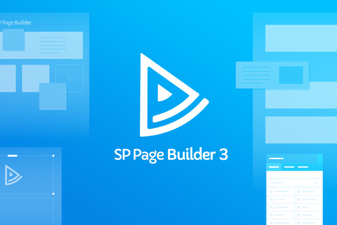 SP Page Builder Pro- конструктор страниц и контента для сайтов Joomla 1 - kwork.ru