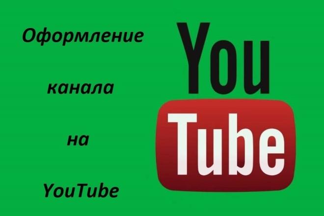 Сделаю обложку канала YouTube фото